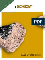 Scherf Katalog de 2020