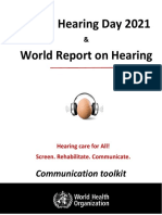 Whd 2021 and Wrh Communication Tooolkit