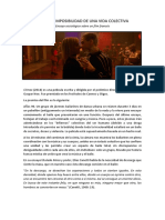 Sobre la imposibilidad de una vida colectiva. Ensayo sociológico sobre un film francés. (Mika Franganillo)