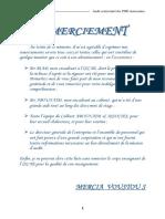 Audit Contractuel Des PME Au Maroc
