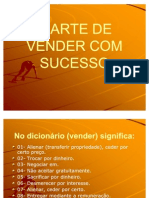 A ARTE DE VENDER COM SUCESSO