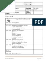 ITSM - Gap Assessment Plan (1)