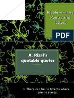 idealism in poetry