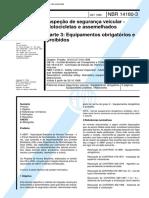 NBR 14180-3 Inspecao De Seguranca Veicular - Motocicletas E Assemelhados - Parte 3