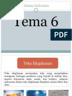 Tema 6 Bahasa Indonesia