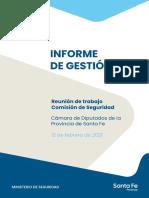 Informe Marcelo Sain