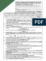 Prova FMP 2021