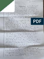 Letter to Kinzinger