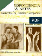 Étienne Souriau - A Correspondência Das Artes_ Elementos de Estética Comparada-Cultrix_ EDUSP (1983)