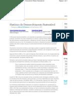 Historico do Desenvolvimento sustentavel