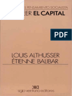 Louis Althusser - Para leer El Capital