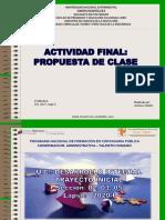 PROPUESTA DE CLASE