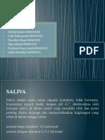 praktikum saliva