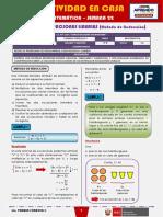 SEMANA 22 - SISTEMA DE ECUACIONES LINEALES (Método de Reducción) [4to MATEMÁTICA]