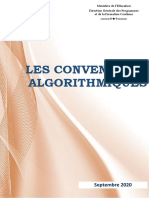 Conventions Algorithmiques 2020-2021