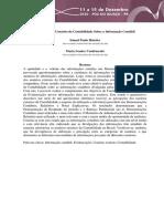 Percepção dos Usuários da Contabilidade Sobre a Informação Contábil - XIV ANPCONT 2020
