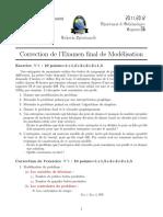 Exam Corr 2011-12 Modelisation
