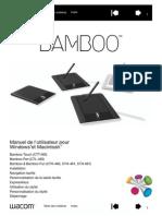 Manuel Utilisateur Bamboo