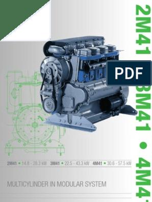Hatz Diesel Engine 2M41 brochure | Diesel Engine | Fuel Injection