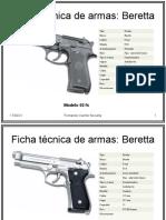 Ficha técnica de armas 9mm