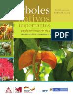 Árboles Nativos Importantes Para La Conservación de La Biodiversidad