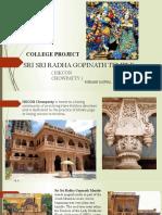 Rishabh Jaiswal- college project ( temple )