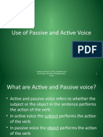 Use of Passive and Active Voice_tcm18-117655