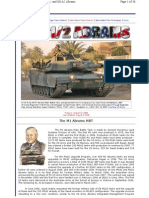 Abrams M1 Modern Battle Tank
