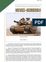 Challenger 2 Modern Battle Tank