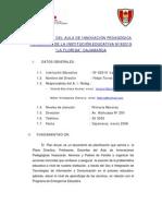 PLAN ANUAL DEL AULA DE INNOVACION