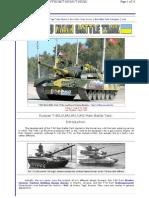 T80 Modern Battle Tank