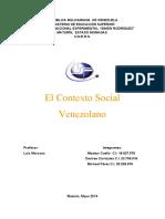El Contexto Social Venezolano Actualizado