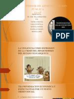 CUARTO SEMESTRE - ESAP - IRRUPCIÓN DE NUEVOS ACTORES SOCIALES, CAMINO HACIA