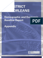 Demographic and Economic Baseline Report-Appendix