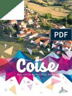 Bulletin municipal de Coise - Edition 2020