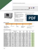 Ficha Técnica - Unidade de extração CJTX-C