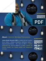 Creative Monday Discussion Sponsorship Package_2021
