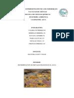 Metales Pesados en Agua (2)