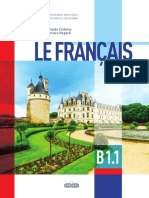 X_Limba Franceza, Nivelul B1.1 (a.2020)