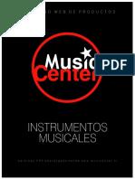 catálogo music center