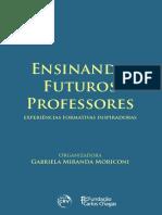 Livro Ensinando Futuros Professores Final