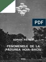 Adrian Pătruț – Fenomenele de La Pădurea Hoia-Baciu