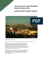 Deklarasi untuk Al quds di Jakarta & Istanbul