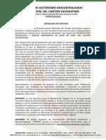 Ordenanza Que Regula La Contratación, Protección y Empleo Preferente de La Mano de Obra, y, Adquisicion de Bienes y Servicios en El Cantón Shu