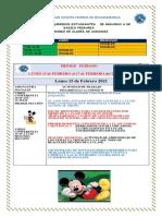 Cronograma de Actividades Segundo a 15 y 17 de Febrero Primer Periodo 2021-Convertido