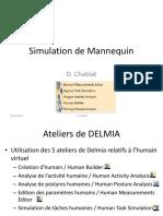 Simulation de Mannequin