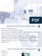RELATÓRIO MENSAL - JULHO 2020 - Palmas