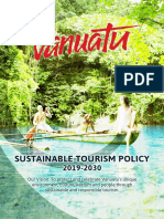 Sustainable Tourism Policy 2019-2030