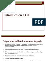 Introduccion c#