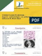 Tuberculosis_Impacto Epidemiológico_HGMS-2019